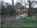 SU0690 : Muddy bridleway near Stoke Common Farm, Purton Stoke by Vieve Forward