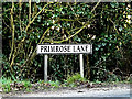TM4188 : Primrose Lane sign by Adrian Cable