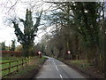 TL9838 : Entering Polstead (from Bower House Tye direction) by Hamish Griffin