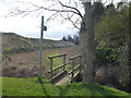 TF1215 : Footbridge and path off Hack's Drove, Baston by Richard Humphrey