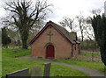 SK2329 : Marston church hall by Alan Murray-Rust