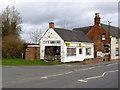 SK2430 : Abandoned village shop, Hilton by Alan Murray-Rust