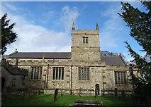 SK4665 : St John The Baptist Church, Ault Hucknall by Neil Theasby