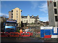 NT2673 : Housing and building site in Canongate by M J Richardson