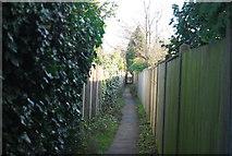 TG2834 : Footpath in Trunch by N Chadwick