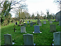 SP6408 : Worminghall churchyard by Robin Webster
