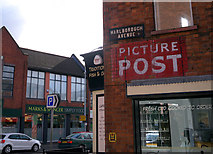 J3271 : Old 'Picture Post' advert, Belfast by Rossographer