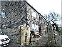 SE0729 : St John's Cross - School Lane by Betty Longbottom