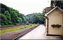 SK3281 : Dore station, 1998 by Ben Brooksbank