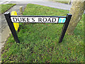 TM3488 : Duke's Road sign by Adrian Cable