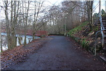 NS3421 : River Ayr Way at Craigholm Bridge by Billy McCrorie