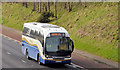 J2966 : Dublin express, M1, Ballyskeagh (March 2014) by Albert Bridge