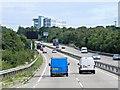 TM1346 : Northbound A14 near Whitton by David Dixon