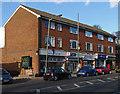 TQ0250 : Local shops, Merrow by Alan Hunt