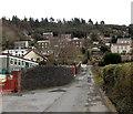 SN7203 : Hillside view from Alltwen Primary School by Jaggery