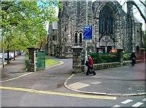J3472 : The main entrance to the Cooke Centenary Presbyterian Church, Ormeau Road by Eric Jones