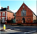SO8932 : Two Stars of David on a Barton Street building, Tewkesbury by Jaggery