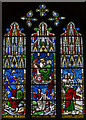 TL5480 : Elijah Stained glass window, Ely Cathedral by Julian P Guffogg
