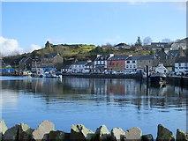 NR8668 : Tarbert harbour by sylvia duckworth