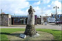 NX6851 : Memorial at Kirkcudbright by Billy McCrorie