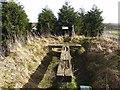 NZ1351 : Leadgate Maze viewing platform by Oliver Dixon