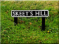 TG2300 : Skeet's Hill sign by Adrian Cable