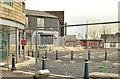 J5081 : Forecourt, Bangor railway and bus station (March 2014) by Albert Bridge