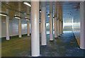 TQ6174 : Ebbsfleet International station: subway from car-park by Ben Brooksbank