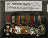 TL3212 : Military Medals on Display, Hertford Museum by Chris Reynolds