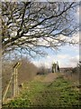 ST5982 : Community Forest Path approaching M5 by Derek Harper