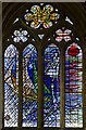 SK9136 : Hall window, St Wulfram's church, Grantham by Julian P Guffogg