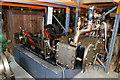 ST5872 : Bristol Industrial Museum store - steam engine by Chris Allen