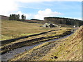 NY8242 : Killhope Burn and Park Level Mill by Mike Quinn