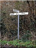 TG2900 : Roadsign on Welbeck Road by Adrian Cable