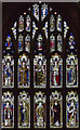 SK7953 : Nave west window, St Mary Magdalene, Newark by J.Hannan-Briggs
