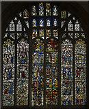 SK7953 : South aisle, East window, St Mary Magdalene, Newark by J.Hannan-Briggs