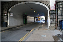 TQ3280 : The Thames Path under London Bridge by Ian S