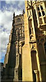 SP0202 : South porch and tower, St John the Baptist Church, Cirencester by Brian Robert Marshall