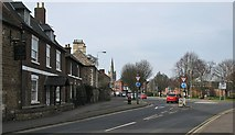 SK8608 : Oakham: the corner of Catmos Street and Stamford Road by John Sutton