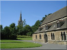 SK8608 : Oakham Church and Castle by DS Pugh