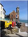 SX4350 : Clock tower at Kingsand, Cornwall by Ruth Sharville