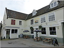 TG1022 : King's Arms, Reepham by pam fray