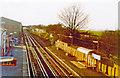 TQ5569 : Farningham Road station, 1995 by Ben Brooksbank