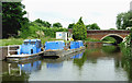 SO8963 : Canal maintenance craft in Droitwich, Worcestershire by Roger  Kidd