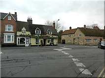 SP7006 : The Rising Sun,Thame by John Lord