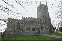 TL2549 : St John Baptist, Cockayne Hatley by David Kemp