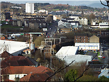 NS2875 : Central Greenock from Belville Street by Thomas Nugent