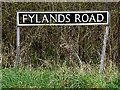 TM2695 : Fylands Road sign by Adrian Cable