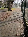 SX9164 : Shadows, Upton Park by Derek Harper