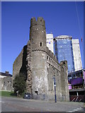 SS6593 : Swansea Castle by Chris Andrews